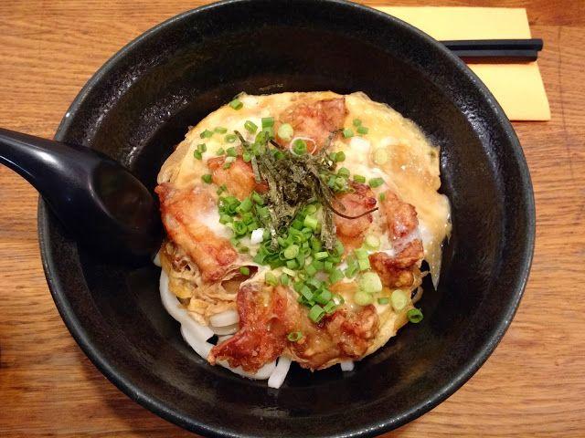 Le Chameau bleu - Udon et Omelette au poulet frit