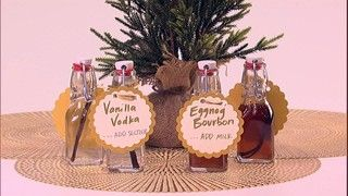 Vanilla Vodka Holiday Cocktail Gift Recipe | The Chew - ABC.com Can add a slice of orange peel.