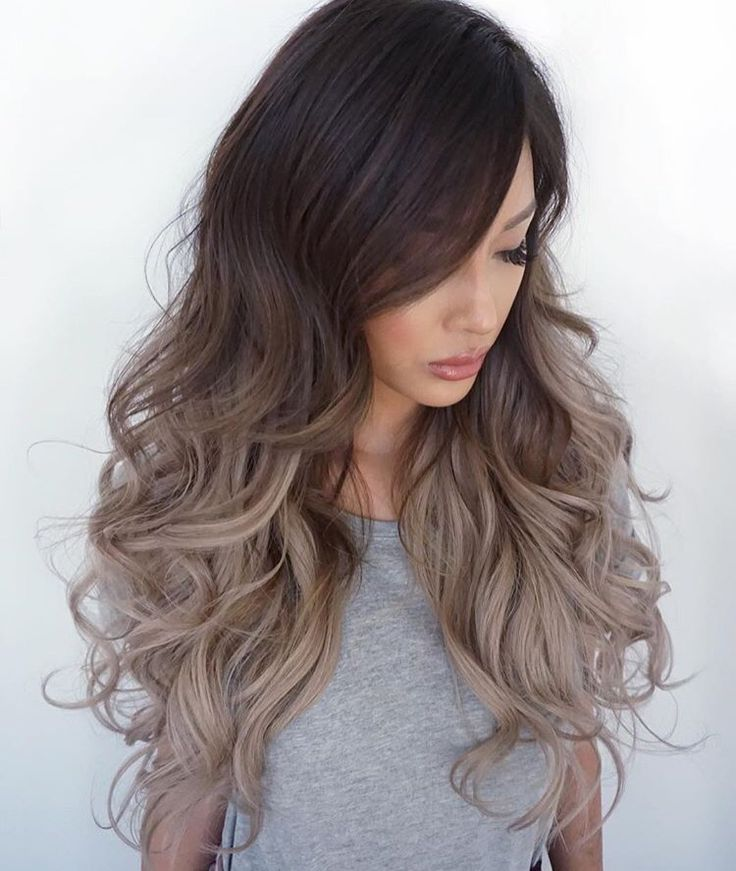 Ash Blond Ombre Hairstyles Pinterest Ash Balayage