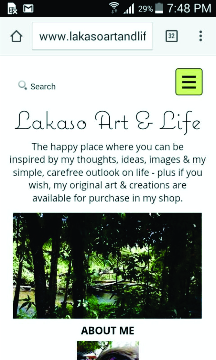 I have my own website!! If you want to see more of my art PLUS my blog, go to www.lakasoartandlife.com