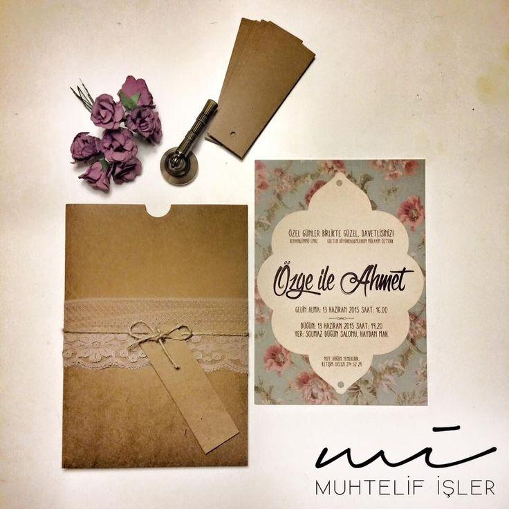 Benim en sevdiğim söz, senden duyduğum ben'dir. #wedding #düğün #invitation #card #davetiye #özdemirasaf