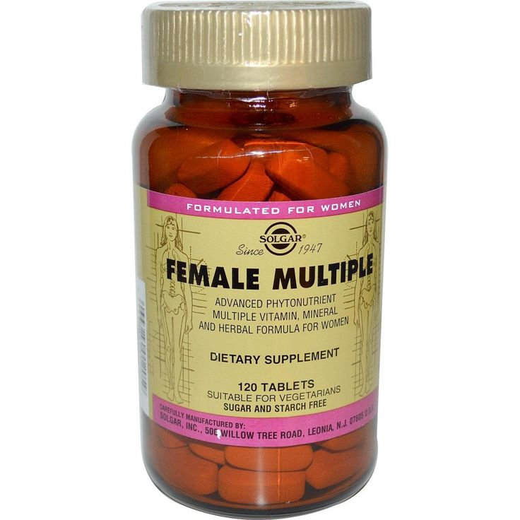 Solgar Female Multiple X 120 Tablets Solgar Female Multiple Tablets are an advanced multiple vitamin and mineral formula for women. It is a scientifically advanced Phytonutrient multivitamin mineral formula specifically to help support a http://www.MightGet.com/january-2017-11/solgar-female-multiple-x-120-tablets.asp