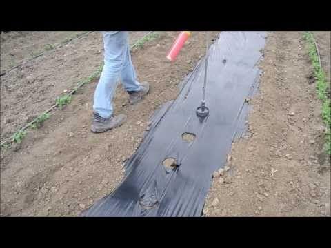 ▶ Terrateck - Perforateur de bache plastique ou tissé manuel - Thermoperfo - YouTube