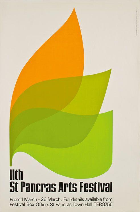 St. Pancras Poster, 1965-- Ken Garland repinned by Awake — http://designedbyawake.com
