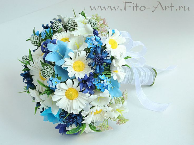 Свадьба : Свадебный комплект с полевыми цветами - Fito Art