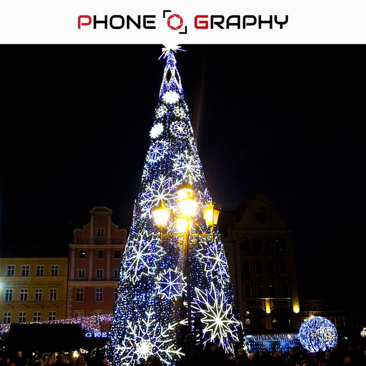 Christmas tree in Wroclaw Market Square Find me on Fotolia / Adobe Stock: 98743440 http://adobe.ly/pog-10  #phoneography #fotolia #instant #adobestock #igers #igerswroclaw #igerspoland #wroclaw #wroclove #miastospotkan #trees #christmastree #night #christmas #choinka #dark #lamp #lights #marketsquare #market #saturated #10