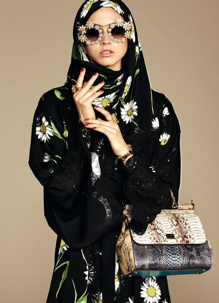 The Middle East is a major player in fashion, and with its latest collection, Dolce & Gabbana caters to the Muslim woman with its first ever abaya and hijab collection. The range features demure yet nonetheless very Dolce & Gabbana looking pieces including plenty of lace, floral prints and ornate details. Accessorizing the ensembles, the …