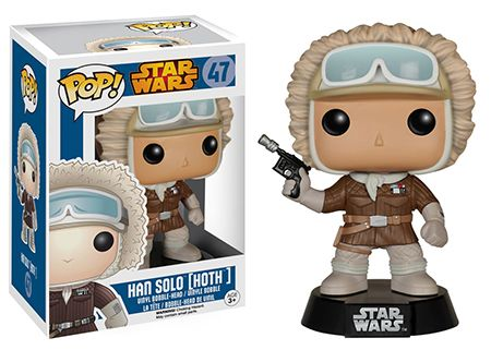 Funko Pop Star Wars 47 Han Solo Hoth GameStop Exclusive