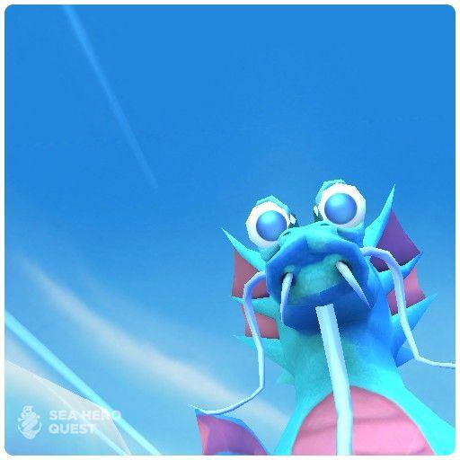 Dieses Wesen habe ich bei meinem Abenteuer entdeckt. Jetzt das kostenlose Spiel Sea Hero Quest im App Store oder bei Google Play downloaden.