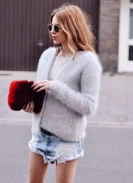 sweater + shorts @dcbarroso