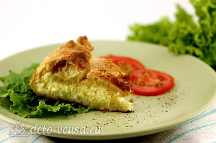 Яичный пирог #яйца #пирог #еда #рецепты #деловкуса #готовимсделовкуса