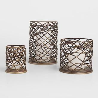 Pretty candle holder decor. rustic or farmhouse style. or modern? Love the colors! #afflink