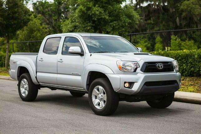 2016 Toyota Tacoma TRD Sport Silver