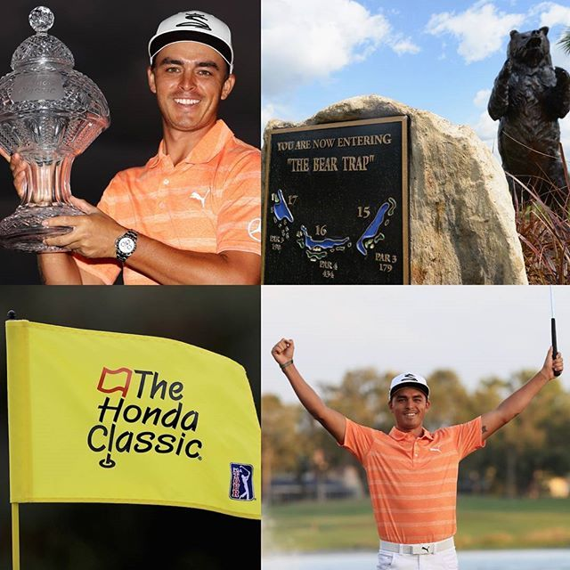 Rickie Fowler defends the Honda Classic this week at PGA National GC as Tiger Rory JT Noren Hatton and Fleetwood all play. What a week ahead! Link in bio for preview #golf #golfer #golfcourse #golfing #instagolf #golfstagram