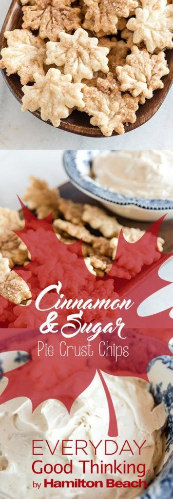Cinnamon Sugar Pie Crust Chips