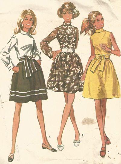 Vintage McCall Dress Pattern