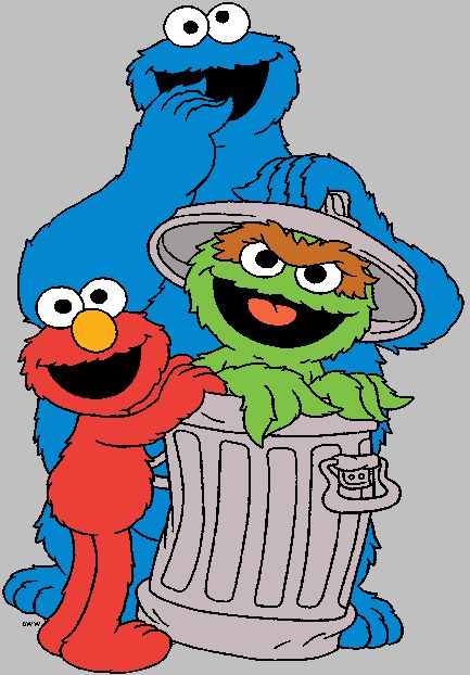 Images of Elmo, Big Bird, Ernie, the Count and others from Sesame ...