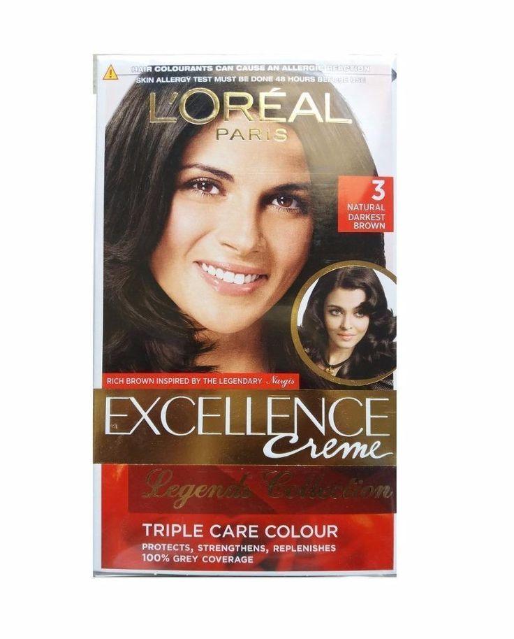 Loreal Paris Excellence Creme Triple Care Long Lasting Hair Color