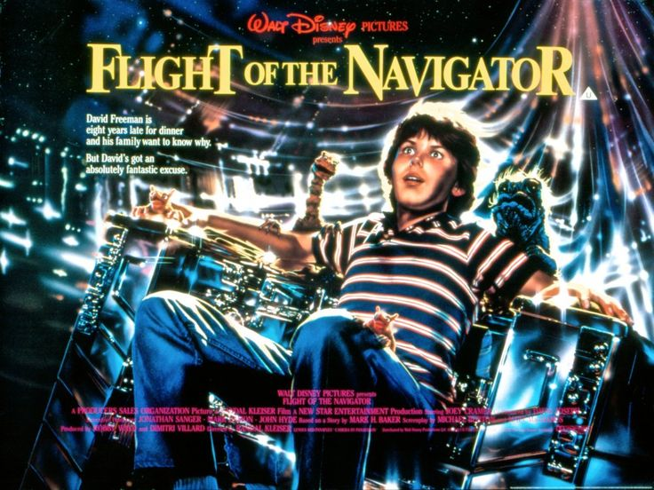 Flight of the Navigator (1986) poster