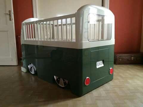 lit b b enfant bois vw combi split chambres lits pinterest. Black Bedroom Furniture Sets. Home Design Ideas