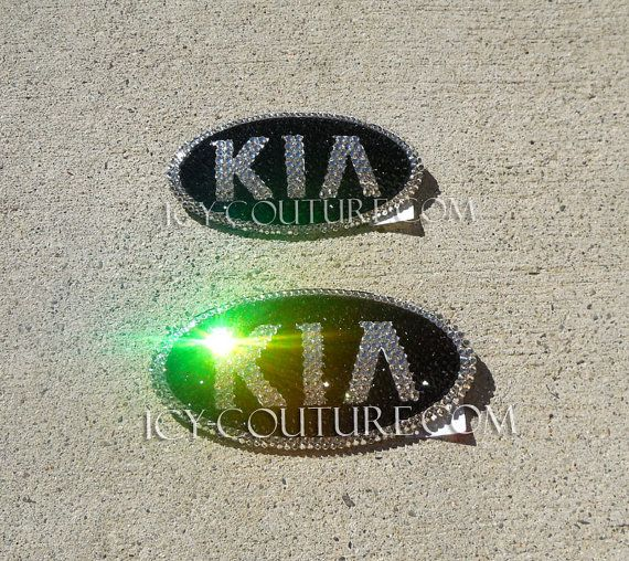 KIA Emblem with Swarovski Bling. Select Your Set. by IcyCouture