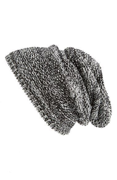 Capelli of New York Textured Knit Beanie (Juniors) | Nordstrom