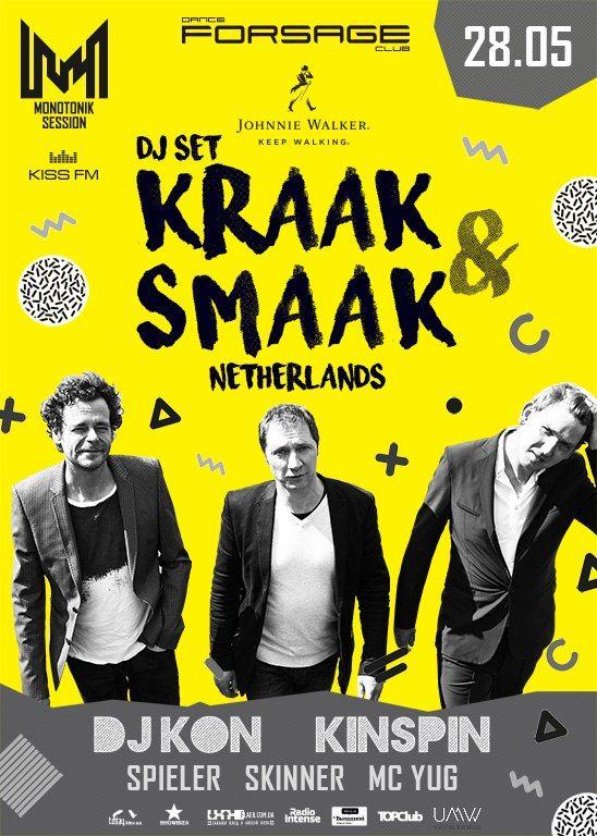 28.05 Kraak &Smaak (Netherlands) @ Forsage