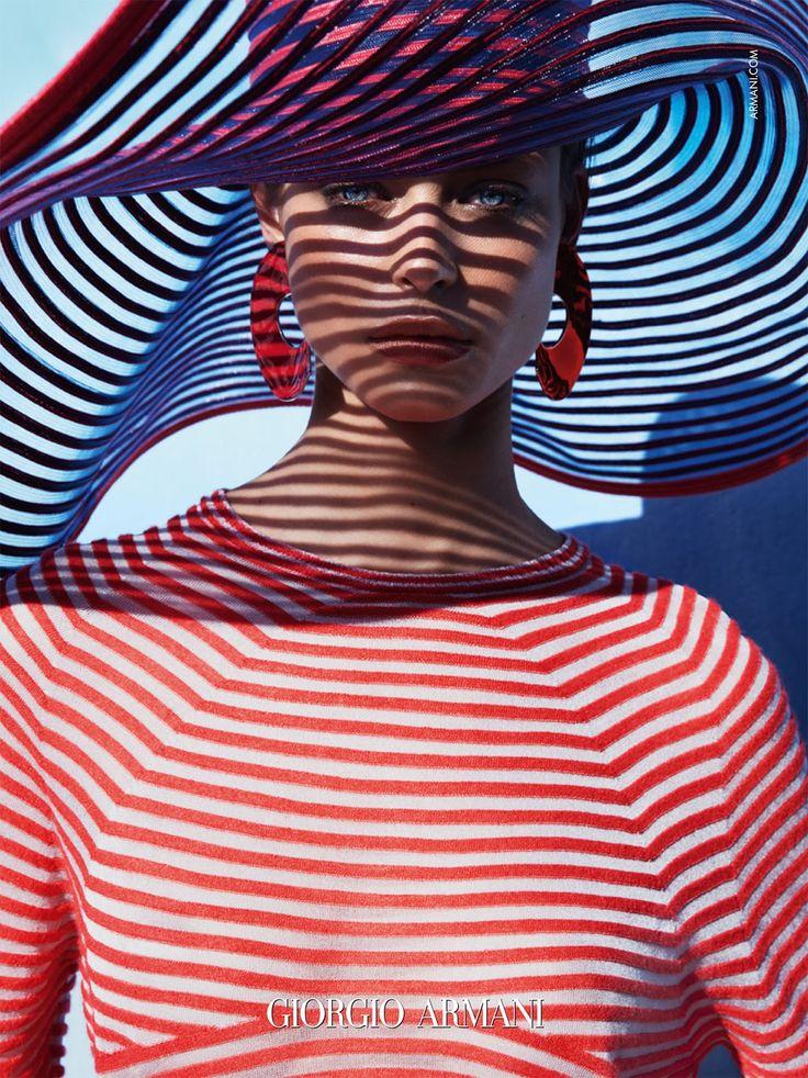 Ad Campaign: Giorgio Armani Spring/Summer 2016: Birgit Kos by Solve Sundsbo