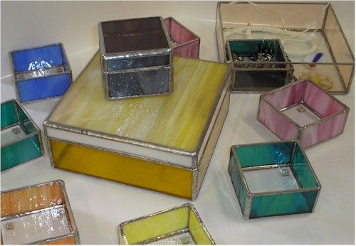 How to Build a Stained Glass Jewelry Box