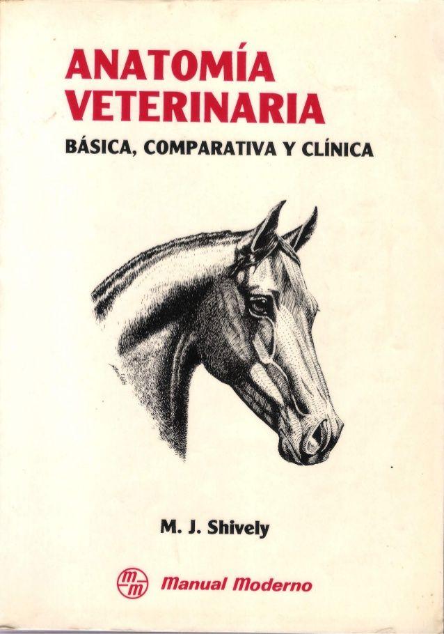 Anatomía veterinaria básica, comparativa y clínica  M. J. Shively