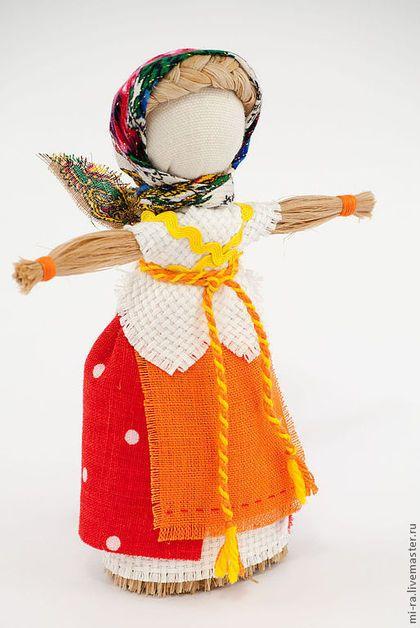 Народные куклы ручной работы. Ярмарка Мастеров - ручная работа Кукла домашняя масленица. Handmade.