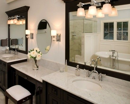 double bathroom vanity with makeup area. Bathroom  Marvelous Vanity With Makeup Table with Benches Accessories Tray and Bathrooms Best 25 makeup vanities ideas on Pinterest Small