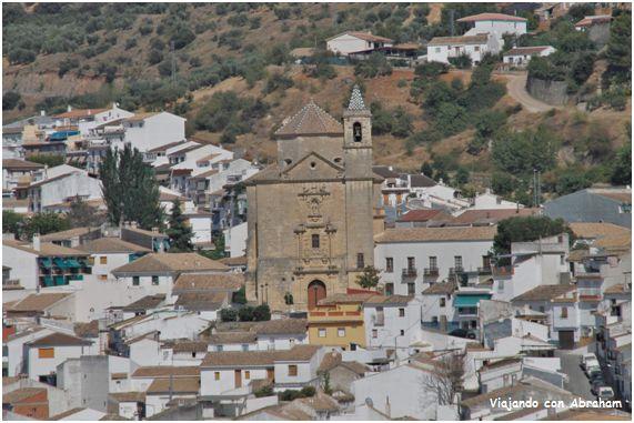 Convento de los Franciscano de Montefrío.Como os decía anteriormente empezamos con el primer enclave que visitamos en Montefrío