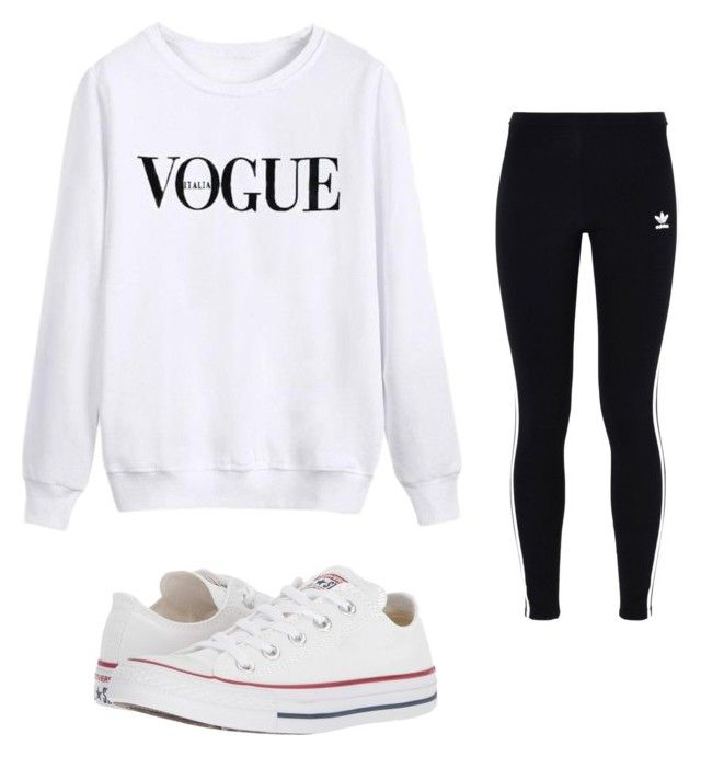 """""""Untitled #12"""" by emma743 on Polyvore featuring adidas Originals and Converse"""