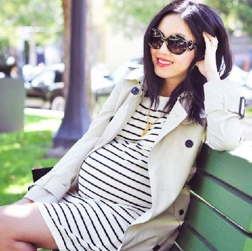 мода для беременных 2015