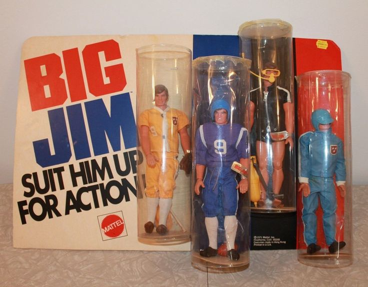 RARE Find 1971 Mattel Big Jim Toy Store Counter Top Display | eBay