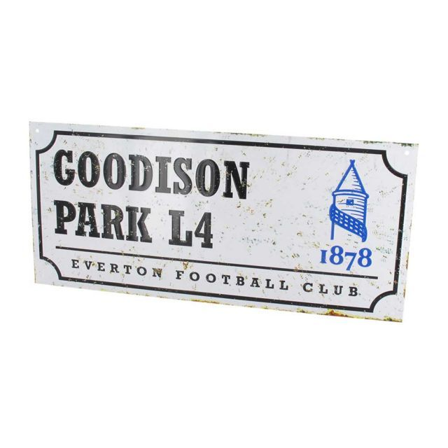 Goodison Park Everton Retro Street Sign From MenKind £0.97