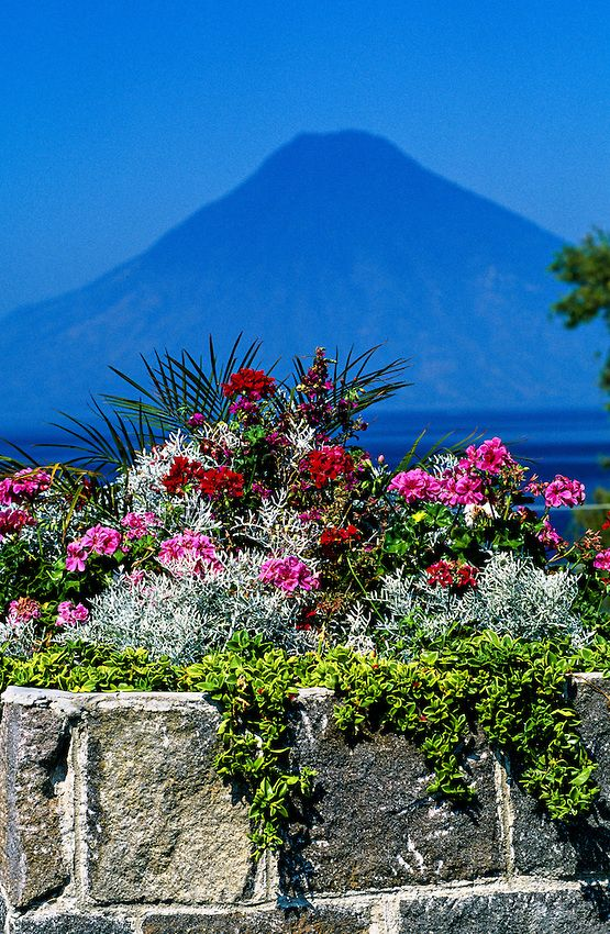 #Panajachel, #Lake Atitlan, Western Highlands, #Guatemala--already been here, but I'd love to go back someday. It's as beautiful as the pictures.