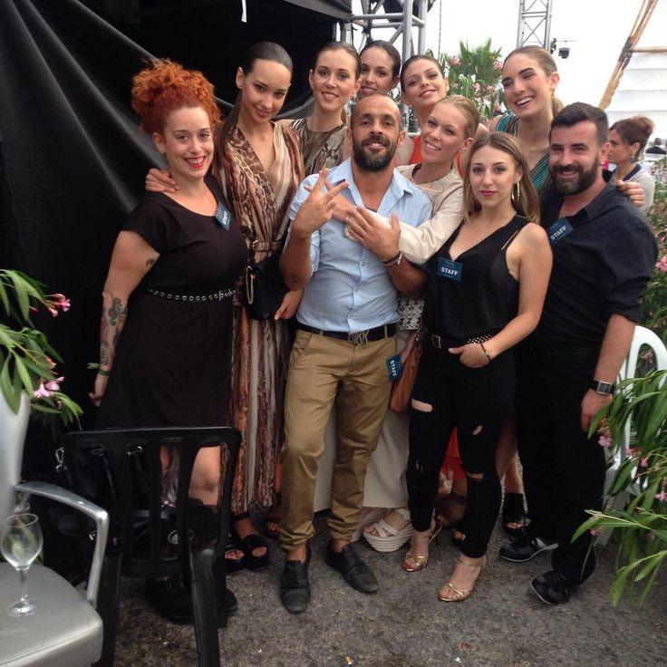 En la #MLW15 colaboramos en el desfile de @ferragamo.  #blue01stylist #moda #lujo #marbella