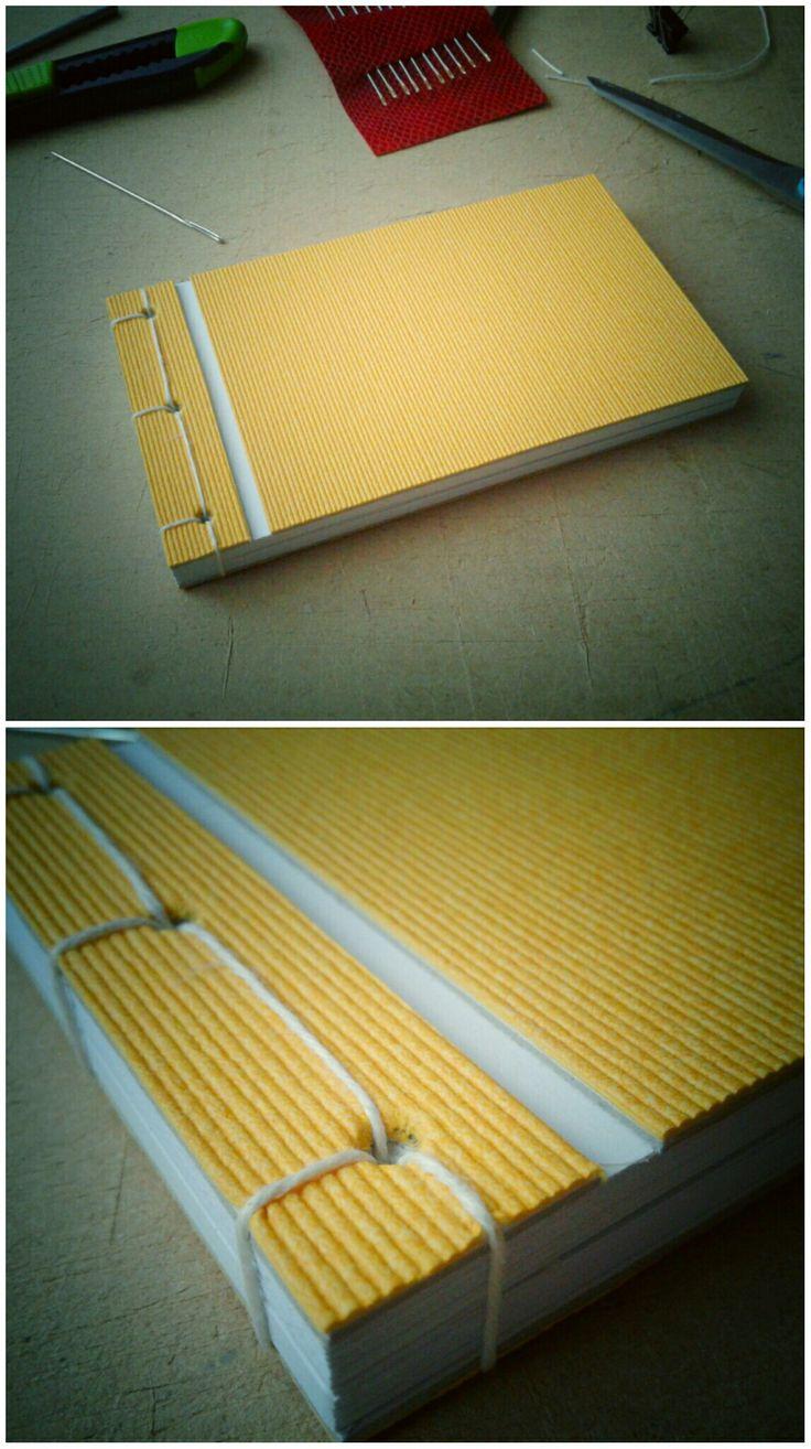 Mint napsütötte gabonatábla... Japán fűzés,16×9 cm.