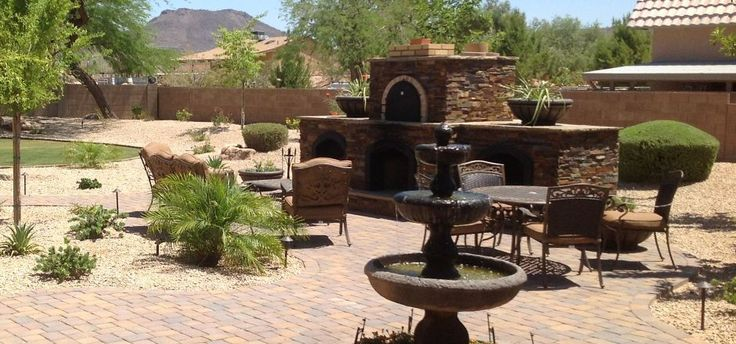 Desert backyard, Backyards and Backyard landscaping on Pinterest