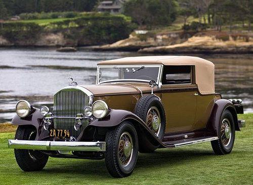 1931 Pierce Arrow Model 41 Convertible Victoria Pierce Arrow Motor Car Company Buffalo New York 1901 1938 Carros E Carros Bonitos