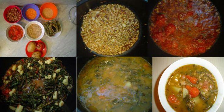 """Обед ''Авелук"""" .Нам надо: авелук , лук , фасоль, горох,чечевица,пшеница,картофель,лечо,чернослив,масло,свежие мелкие помидорки,соль-перец по вкусу .Приятного аппетита!!!!!!!!!"""