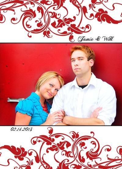 Elegant Wedding Photo Cards