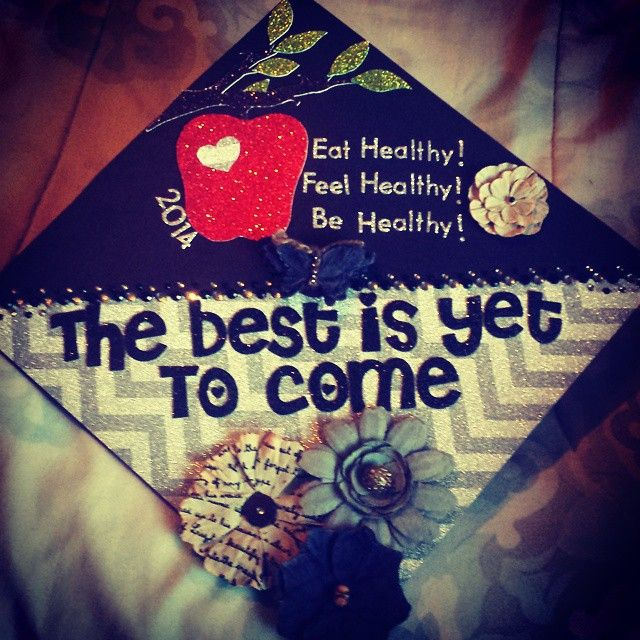 My Graduation Cap. In love with it. Nutrition. ASU. Graduation2014.