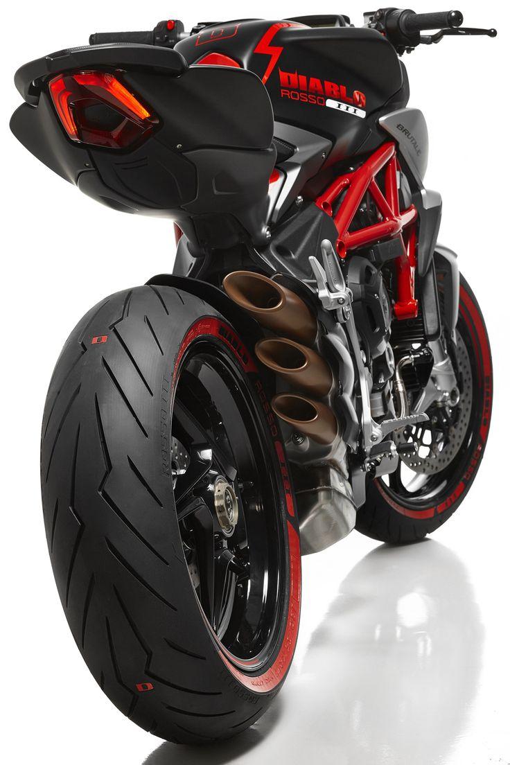 Brutale 800 Diablo Rosso by Pirelli & MV Agusta