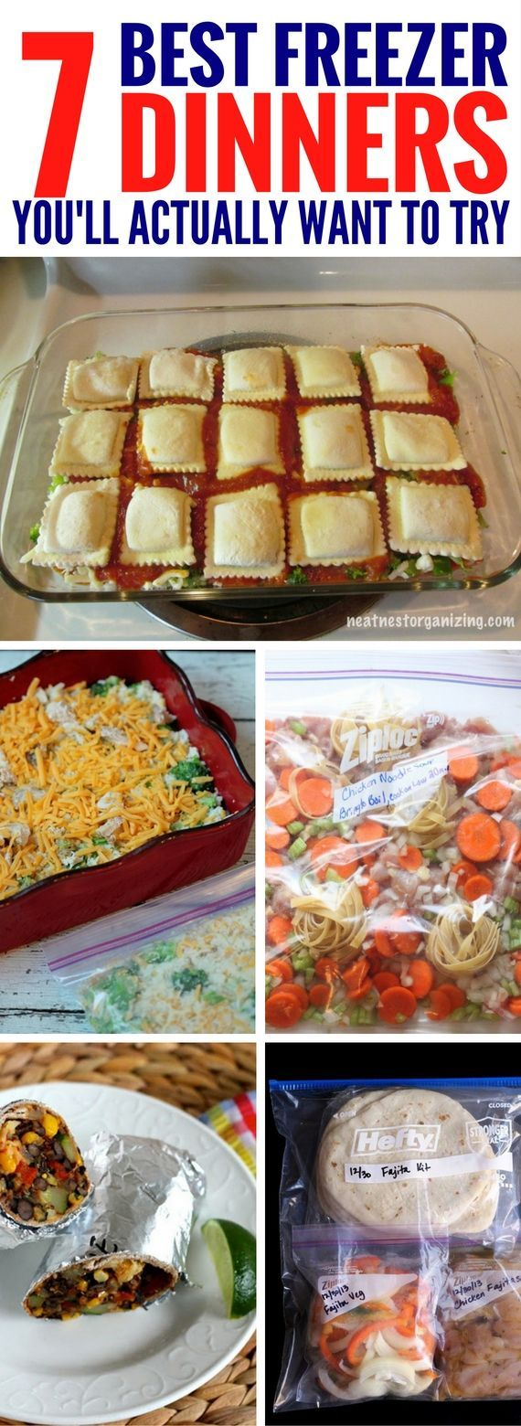 Easy Dinner Recipes but it's actually frozen dinners that are GREAT for when you're busy or just not feeling like cooking.