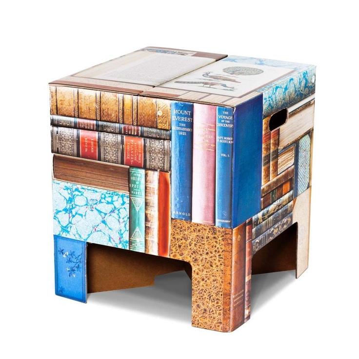 Books by Dutch Design Chair. #stool #coffeetable