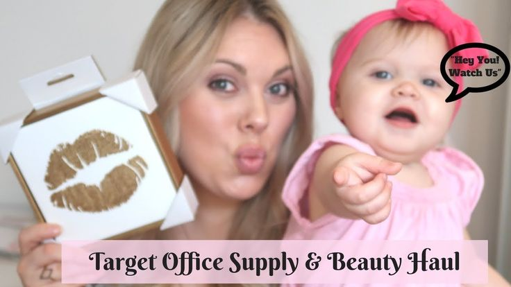 PINK, GOLD & WHITE OFFICE DESK ACCESSORIES + BEAUTY HAUL FROM TARGET
