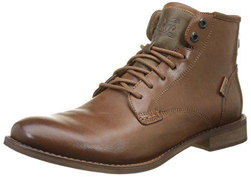 Levi's Baldwin, Desert Boots Homme, Marron (Medium Brown 27), 43 EU: Tweet Levis Bottes Baldwin Derby Dentelle Chaussures Chic en cuir…